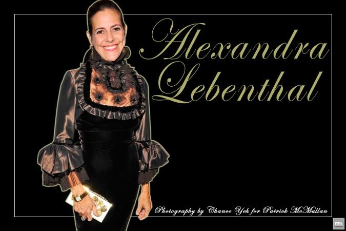 Alexandra Lebenthal Who Am I 1
