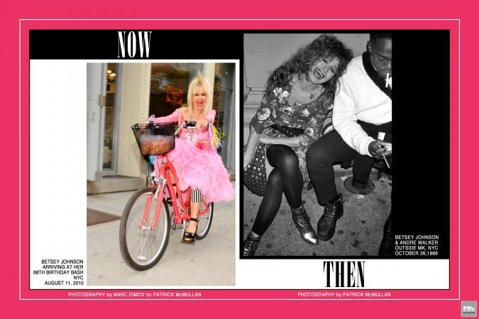 Betsey Johnson Now & Then 1