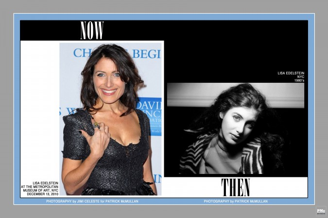 Lisa Edelstein Now & Then 1