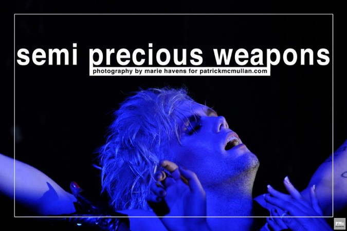 Semi Precious Weapons 1
