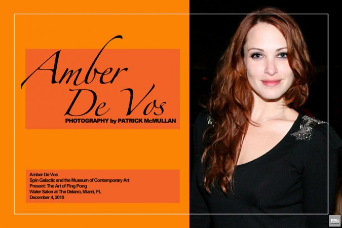 Amber De Vos Who Am I? 1