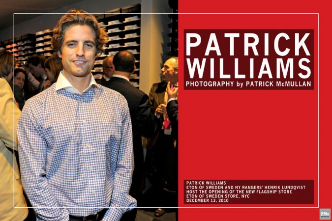 Patrick Williams Who Am I?