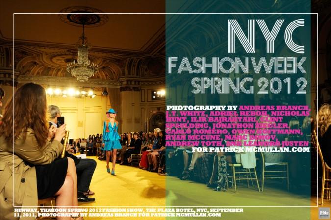 NYC FASHION WEEK SPRING 2012 ROUNDUP