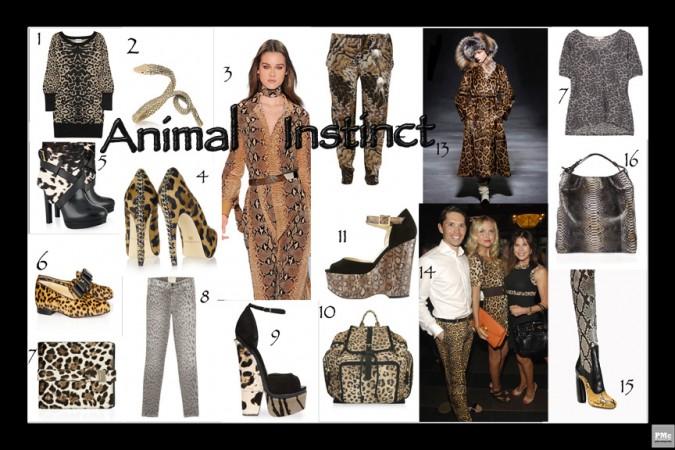 Animal Instinct - Fashion Trends
