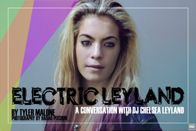 DJ Chelsea Leyland
