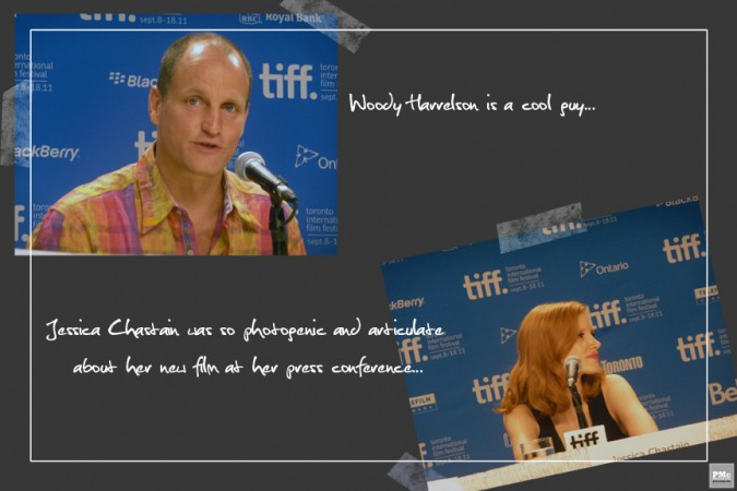 Woody Harrelson & Jessica Chastain