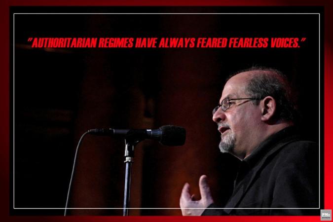 2- Salman Rushdie