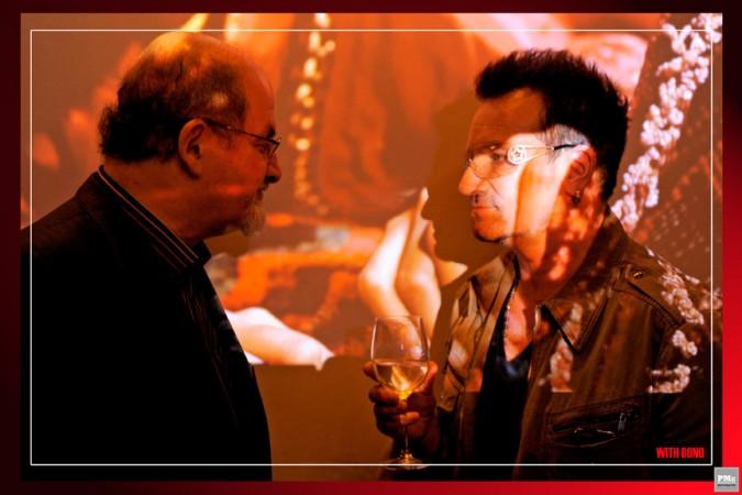 Salman Rushdie, Bono