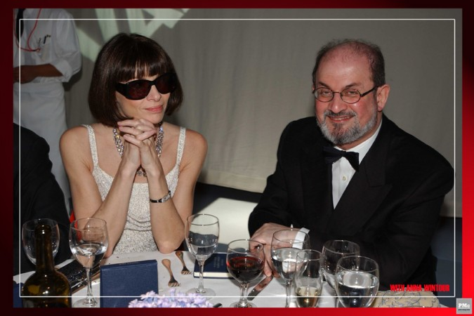 Anna Wintour, Salman Rushdie