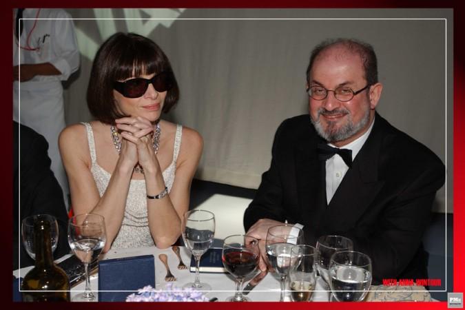 Anna Wintour, Salman Rushdie