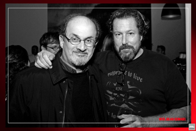 Salman Rushdie, Julian Schnabel