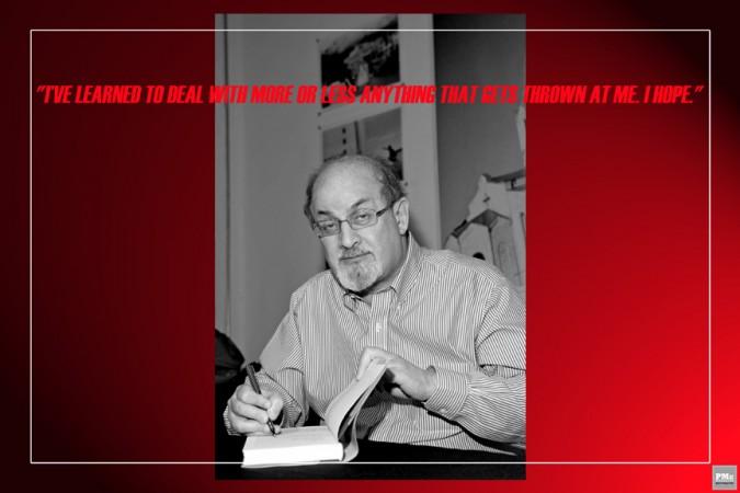 8 - Salman Rushdie