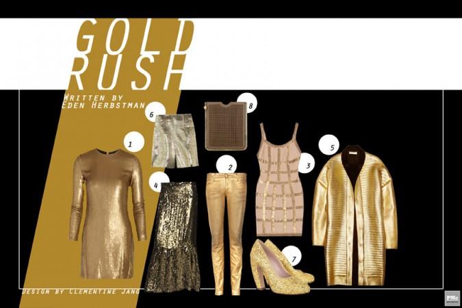 FASHIONATION : GOLD RUSH