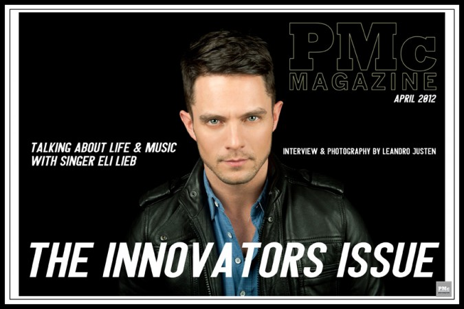Eli Lieb - Cover 1-April-Issue