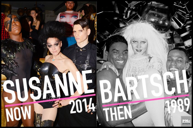 Susanne Bartsch Now & Then