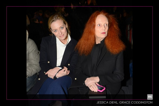 Donna Karan 30th-Jessica Diehl, Grace Coddington