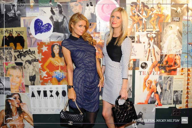 FashionWeek-ParisHilton, NickyHilton