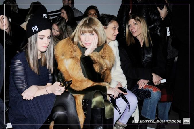 FashionWeek-BeeShaffer, AnnaWintour