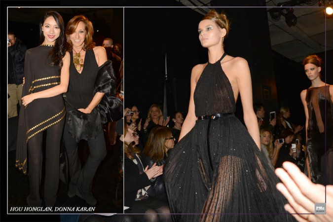 FashionWeek- HouHonglan, DonnaKaran