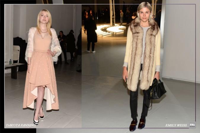 FashionWeek-DakotaFanning, Emely Weiss