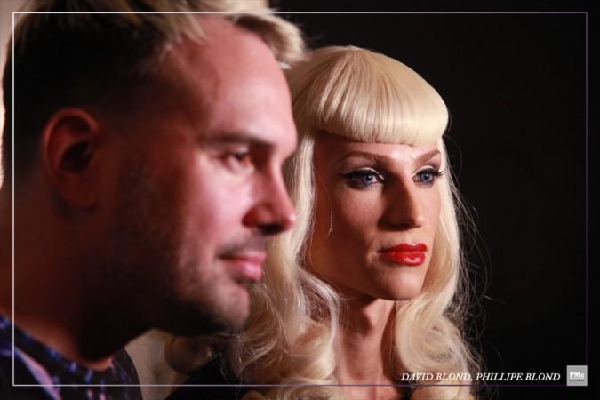 FashionWeek-David Blond, Phillipe Blond